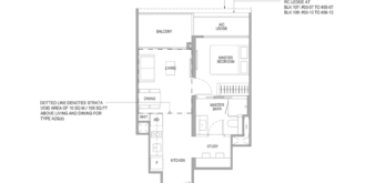 sengkang-grand-residences-floor-plan-1-bedroom-study-singapore