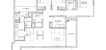 sengkang-grand-residences-floor-plan-4-bedroom-study-singapore